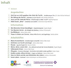 Arbeitsmaterial und Inspiration: Krisen-Haft-Heft