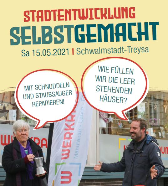 Stadtentwicklung selbstgemacht - Einladung zum Werkstatttag am 15.5.21