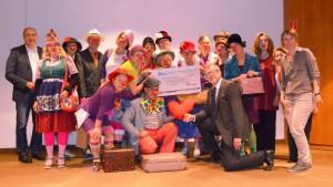 Neue Clowninnen und Clowns im Altenheim!