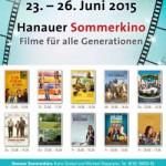 Filme für alle Generationen im Hanauer Sommerkino. 23.-26. Juni