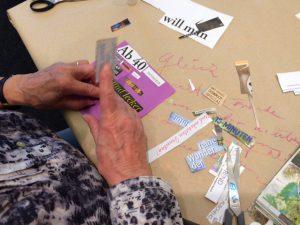 Mit Worten und Schrift können auch die Alten spielen