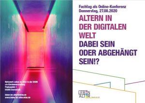 Online-Fachtag: Altern in der digitalen Welt - Dabei Sein oder abgehängt sein!?