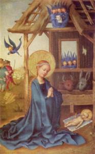 Stefan Lochner, Geburt Christi